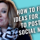 The #GetSocialSmart Show Episode 002: How to Find Ideas to Post to Social Media