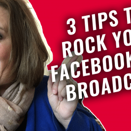 The #GetSocialSmart Show Episode 011: 3 Tips to Rock Your Facebook Live Broadcasts