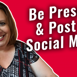 The #GetSocialSmart Show Episode 023: How to Be Present and Post to Social Media