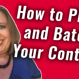 How to Plan and Batch Your Content | #GetSocialSmart Show Episode 037