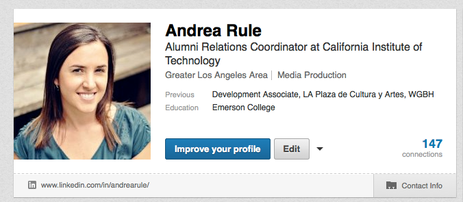 The ideal size for a LinkedIn profile photo is 500 x 500.