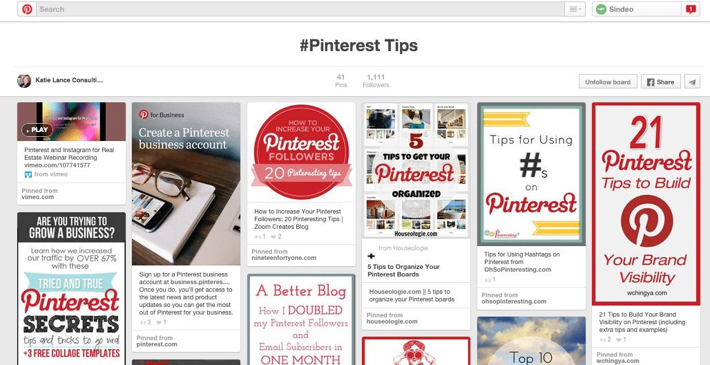 Pinterest ideal image size