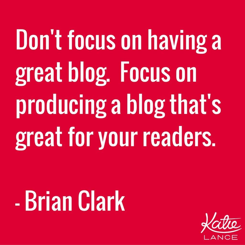Your blog should answer some of the pain points that your clients have!